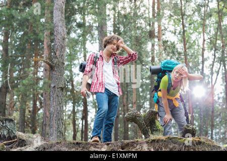 Fatigué de la randonnée en forêt ou deux