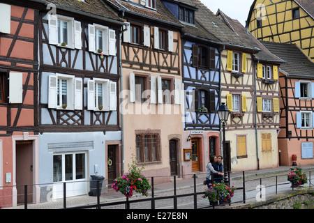 Colmar Alsace France Banque D'Images