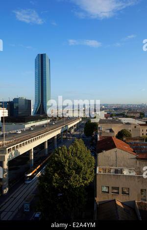 France, Bouches du Rhône, Marseille, capitale européenne de la culture 2013, zone Euromediteranean, district de Banque D'Images