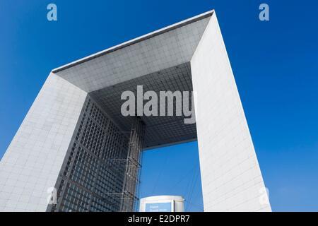 France Haut de Seine La Défense la Grande Arche de la Défense par l'architecte Otto von Spreckelsen Banque D'Images