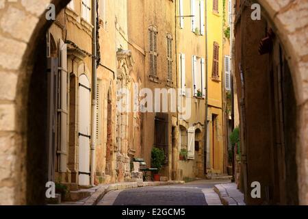 Aups Var France Banque D'Images