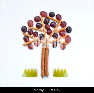 Arbre Food Art Banque D'Images