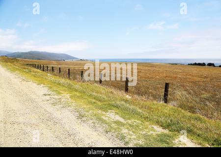 Route 1, Pacific Highway 101 Californie sur la façon de Big Sur, avec vue imprenable sur le paysage et l'ocean way Banque D'Images