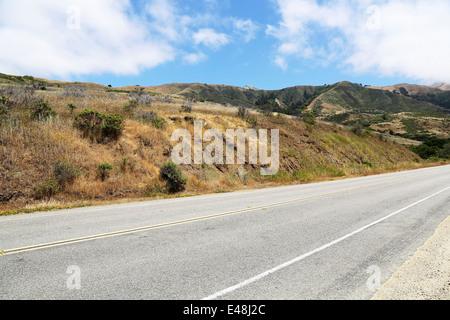 Route 1, Pacific Highway 101 Californie sur la façon de Big Sur, avec vue imprenable sur le paysage et l'océan Banque D'Images