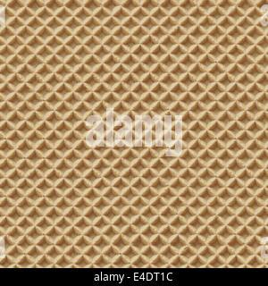 Texture transparente gaufre détaillées Tile Close-up Banque D'Images