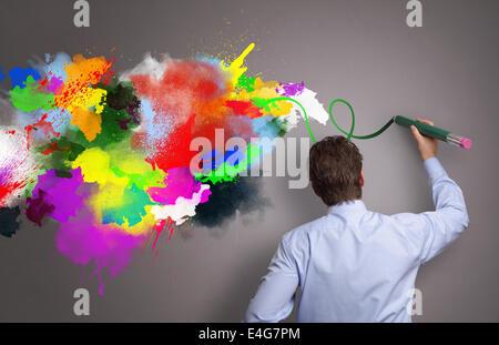 Creative Business Banque D'Images