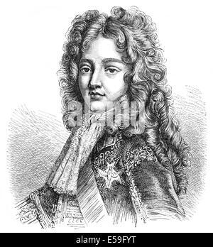Louis de France, le Grand Dauphin, 1661-1711, fils aîné de Louis XIV, roi de France, Louis, Dauphin von Frankreich, Banque D'Images