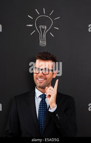 J'ai de très bonne idée, Debica, Pologne Banque D'Images