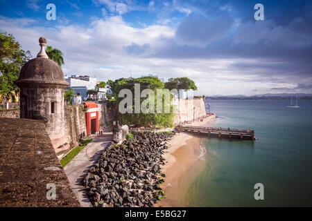 San Juan, Puerto Rico côte.