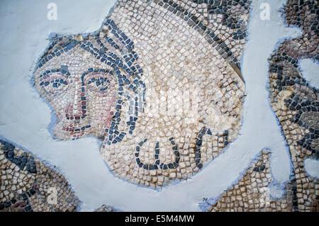 Ananeosis (éveil) mosaïque, 5e 100 A.C., Musée archéologique d'Hatay, Antioche, province de Hatay, dans le sud-ouest de la Turquie