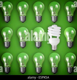 Idée concept Light bulb Banque D'Images