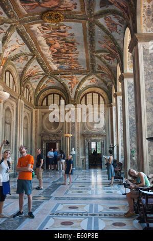 Rome ITALIE 2014 - villa Farnesina est un villa dans la banlieue de la renaissance via della Lungara, dans le quartier Banque D'Images