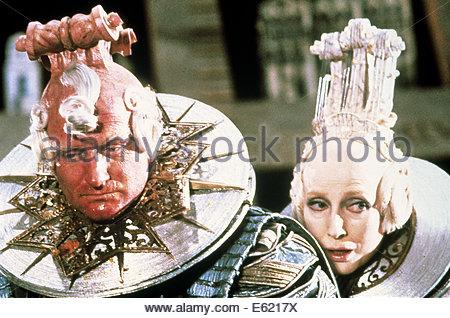Les aventures du Baron de Münchhausen (1988) sur la photo: ROBIN WILLIAMS. Avec la permission de Granamour Weems Banque D'Images