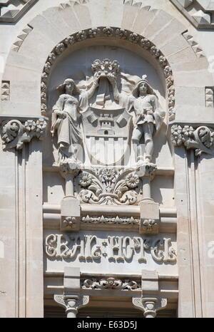 PALMA DE MAJORQUE, ESPAGNE - 23 MAI: Gran façade de l'hôtel le 23 mai 2012 à Palma de Majorque, Espagne Banque D'Images