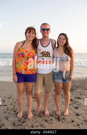 Les jeunes adultes, adolescents, Capistrano Beach, alias Capo Beach, ville de Dana Point, l'Orange County, California, United States