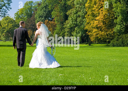 Mariée,mariage,marié,marié,couples nuptiales Banque D'Images
