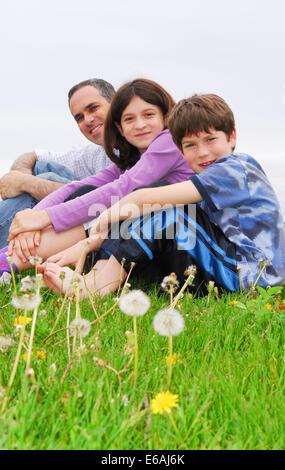Père,enfant,togetherness Banque D'Images
