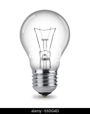 L'ampoule classique isolé Banque D'Images