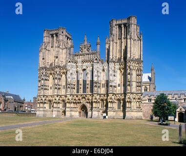 La cathédrale de Wells Somerset UK