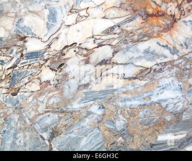 Motif de fond texture marbre blanc à haute résolution. Banque D'Images