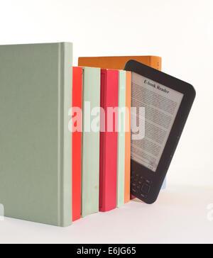 Lecteur d'ebook Banque D'Images