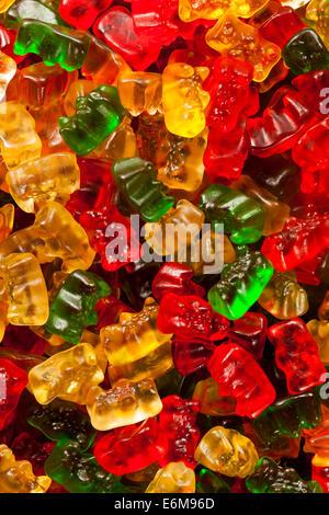 Fruité coloré ours gommeux prêt à manger