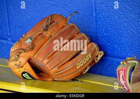 gant de baseball Banque D'Images