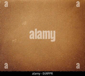 La texture de cuir brun motif abstrait textile. Banque D'Images