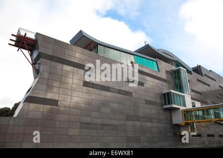Le Musée Te Papa, le Musée National de Wellington, Wellington, Île du Nord, Nouvelle-Zélande Banque D'Images
