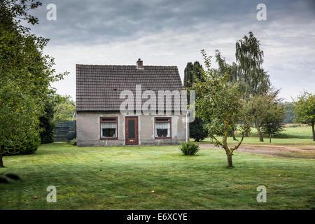 Pays-bas, Nuenen, Vincent van Gogh. Ancienne maison où vivaient les modèles pour les mangeurs de pommes de terre, Banque D'Images
