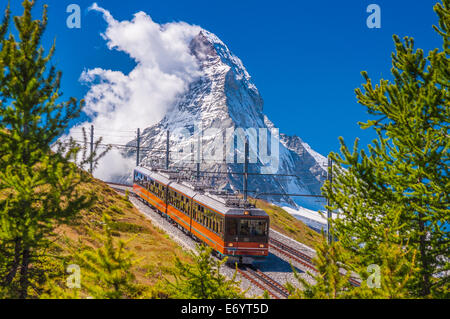 La montagne en face de Matterhorn peak Banque D'Images