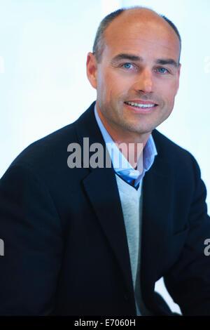 Portrait of mature man Banque D'Images