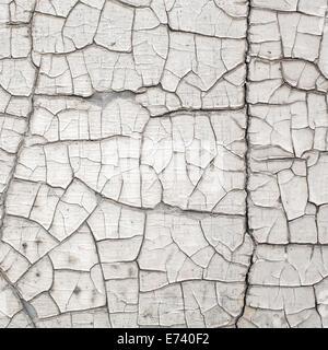 La texture du mur fissuré ancien Banque D'Images