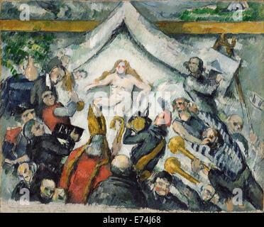 L'éternel féminin (L'Éternel féminin); Paul Cézanne, Français, 1839 - 1906; France, Europe; environ 1877; Huile Banque D'Images