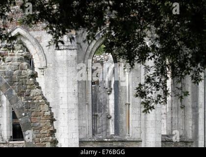 Château de Margam Country Park - et les ruines du monastère cistercien datant de 1147 l'abbaye cistercienne à Margam était t