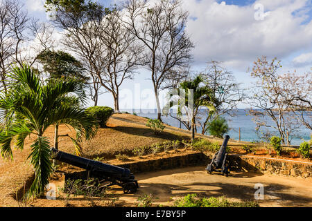 Fort Bennett dans l'Ouest de Tobago.