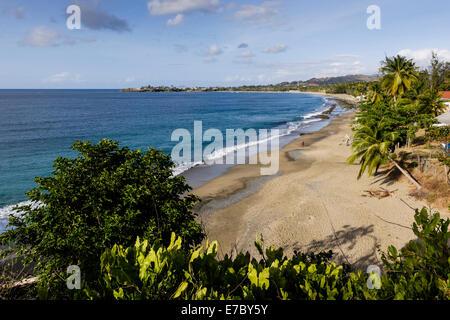 Vue depuis le Fort Bennett dans l'Ouest de Tobago.