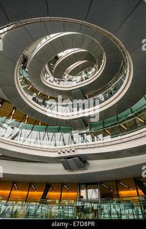 L'intérieur de l'Hôtel de ville de Londres au cours de week-end portes ouvertes, Southwark, Londres Banque D'Images
