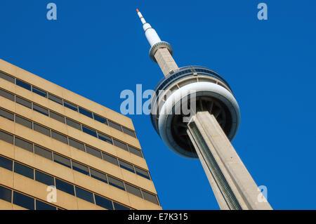 Le centre-ville de Toronto La tour CN