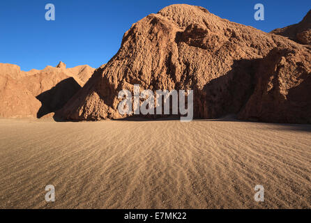 Chili, El Norte Grande, Région de Antofagasta, Salar de Atacama, Cordillera del Sal Banque D'Images