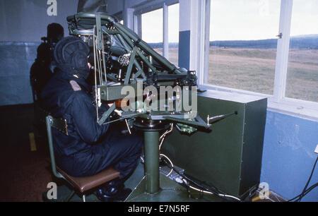 Bad Salzungen, Allemagne de l'Est. Feb 9, 1990. Les soldats de l'armée est-allemande (ANB) sur leur base le 9 février Banque D'Images