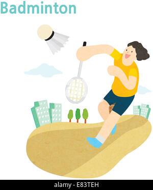 Jeux de sport Banque D'Images