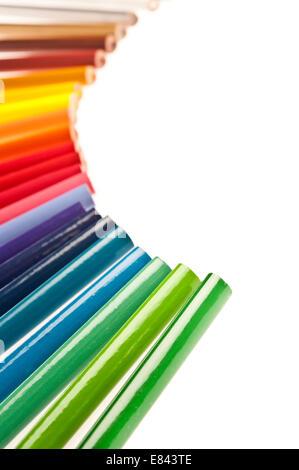 Pastels colorés Banque D'Images