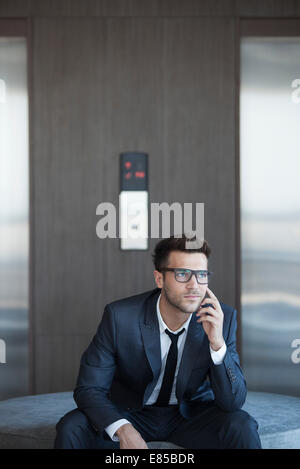 Les jeunes à la mode business executive, portrait
