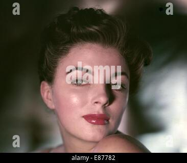 JOAN COLLINS UK film actrice sur 1958 Banque D'Images