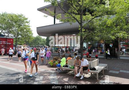 Billie Jean King National Tennis Center, Flushing Meadows, New York,USA. Banque D'Images