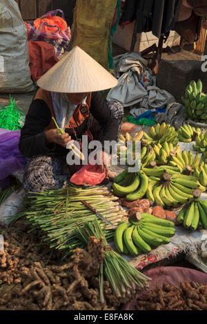 Vietnam, Quang Nam, Hoi An, ville ancienne (UNESCO Site), du marché Banque D'Images