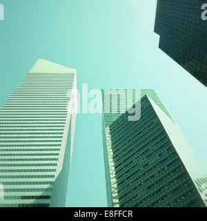 Gratte-ciel sur Lexington Avenue, Manhattan, New York, Amérique, USA Banque D'Images