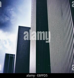 Rangées de gratte-ciel, Rockefeller Center, Manhattan, l'Amérique, USA Banque D'Images