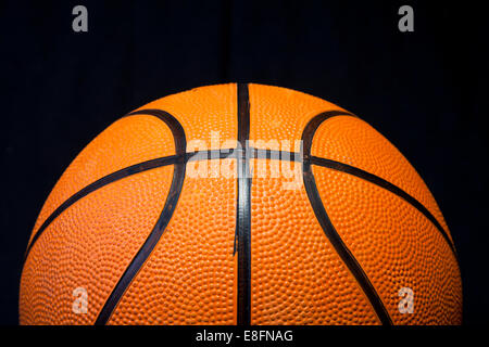 Close up of basket-ball Banque D'Images